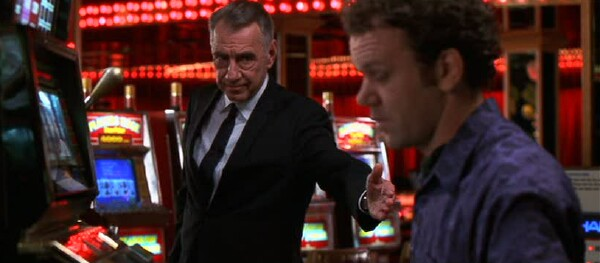 Philip Baker Hall and John C. Reilly in Hard Eight