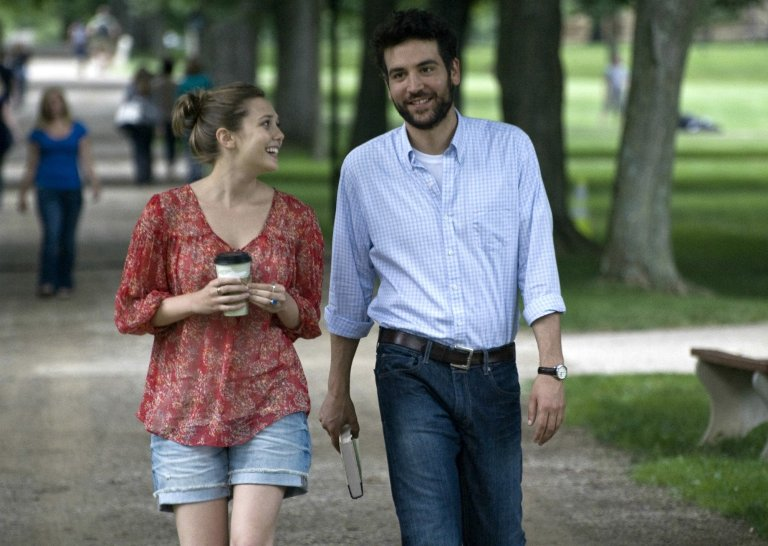 Elizabeth Olsen as Zibby and Josh Radnor as Jesse in Liberal Arts, a film I cared a lot about