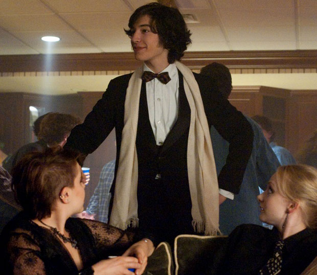 Miller is both heartwarming and heartbreaking in The Perks of Being a Wallflower
