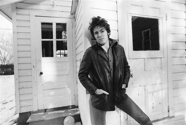 An image from Frank Stefanko's iconic photo shoot for Darkness on the Edge of Town, my favourite Springsteen album