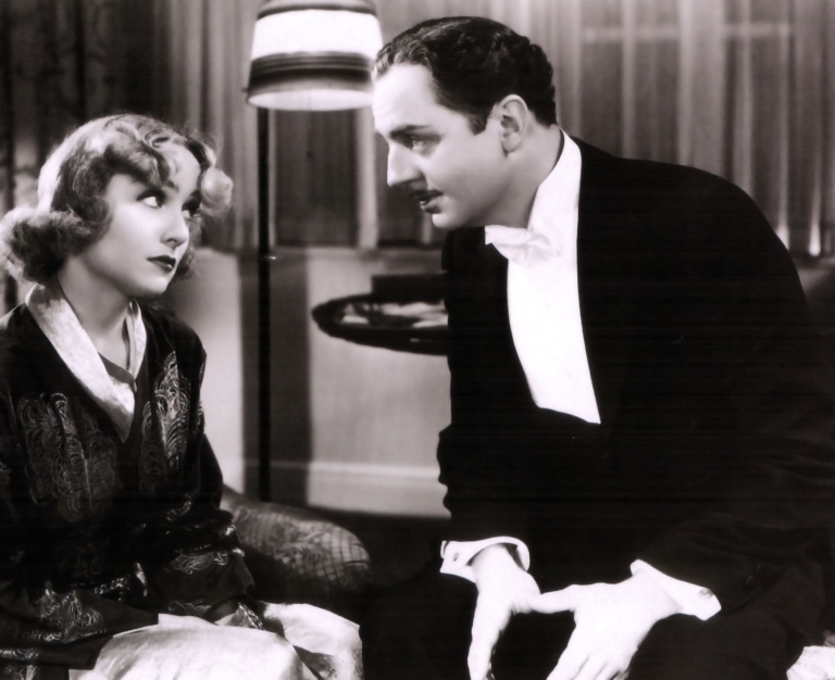 Carole Lombard and William Powell in the great screwball comedy My Man Godfrey (1936)