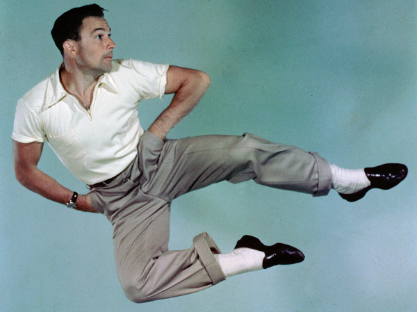 Gene Kelly takes flight