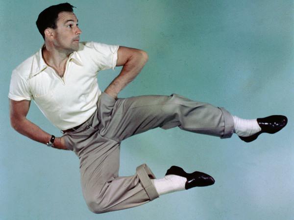 Gene Kelly takes flight