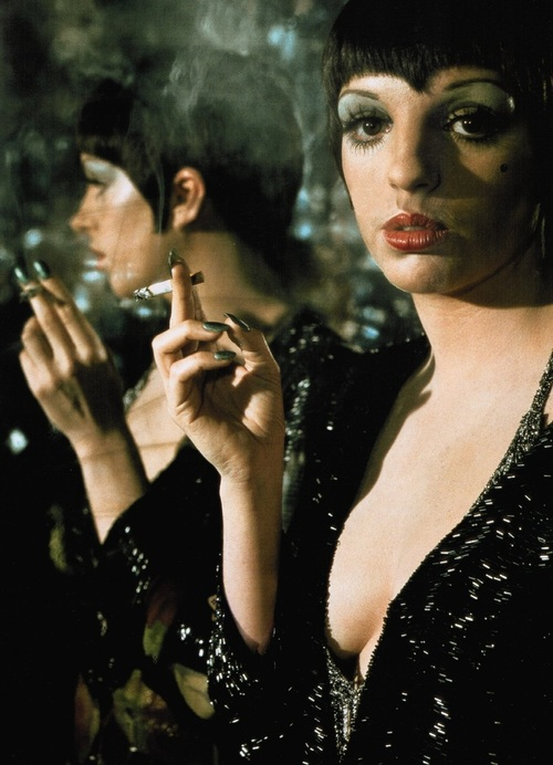 Liza Minnelli is Sally Bowles in Cabaret