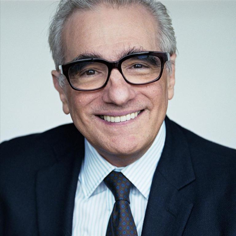 Martin Scorsese - always happy to talk about pictures