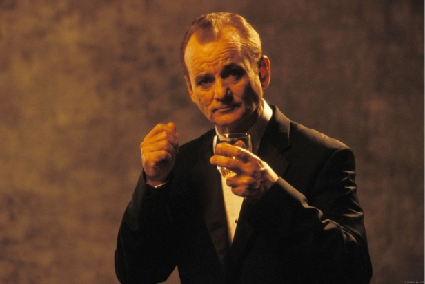 For relaxing times ... make it Suntory time. Bill Murray in Lost in Translation (2003).