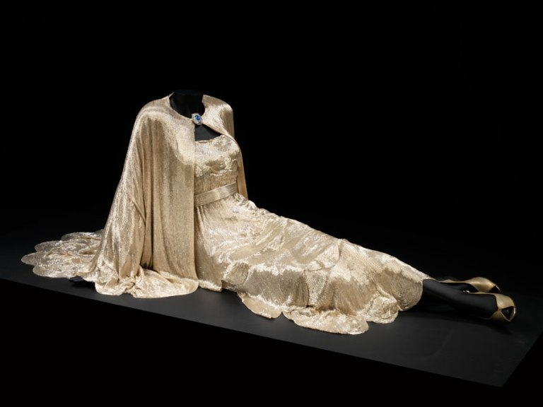 The dress on display from My Man Godfrey