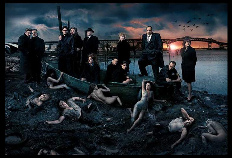 Promotional photo for Season 5 of The Sopranos