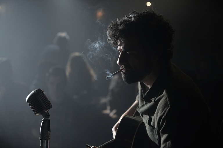 Isaac sings in the film's opening scene