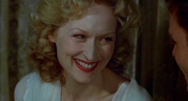 Streep in Sophie's Choice, one of her finest moments