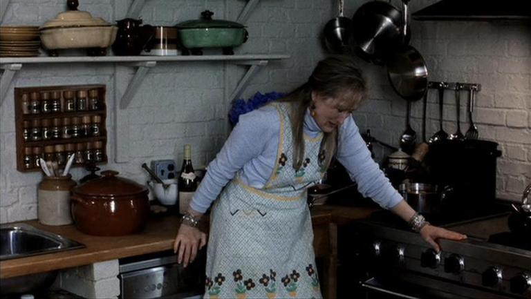 Streep breaks down in the kitchen in The Hours and shows us all how it's done