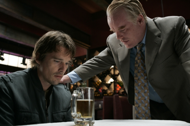 With Ethan Hawke as Hank in a scene from Before the Devil Knows You're Dead