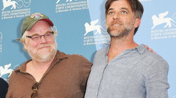 With filmmaker Paul Thomas Anderson