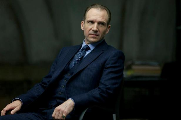 Fiennes as Mallory/M in Skyfall
