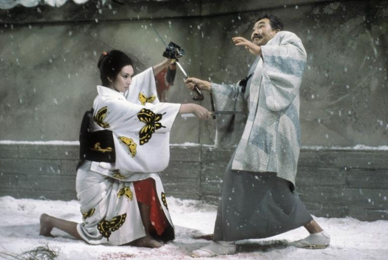 Lady Snowblood in action