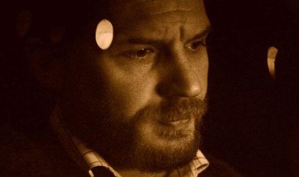 Tom Hardy in close up in LOCKE