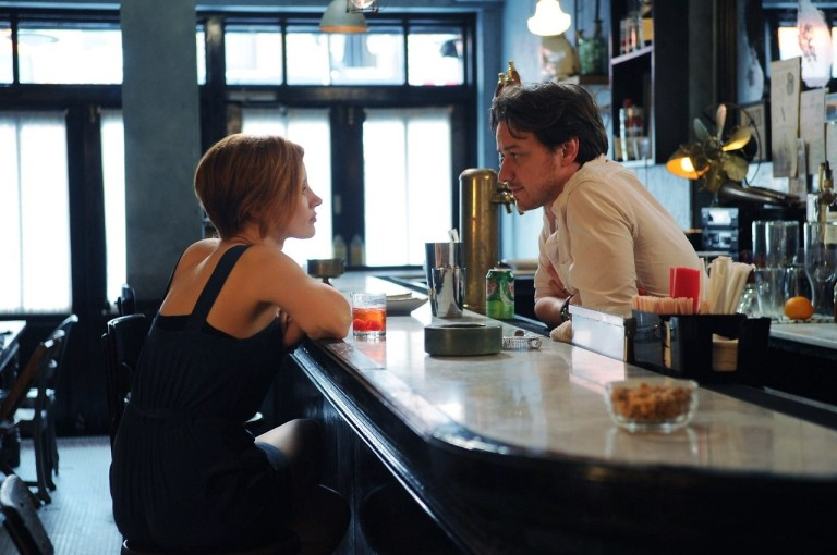 Jessica Chastain and James McAvoy both astound in The Disappearance of Eleanor Rigby
