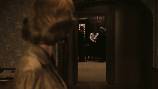 Brilliant framing within frames by Coppola at the finale of The Godfather ...