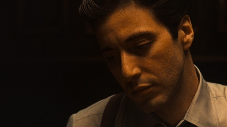 Willis shot Pacino like a Caravaggio
