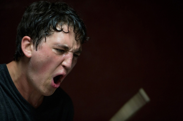 Miles Teller as Andrew gives an intensely physical performance pushed to the edge