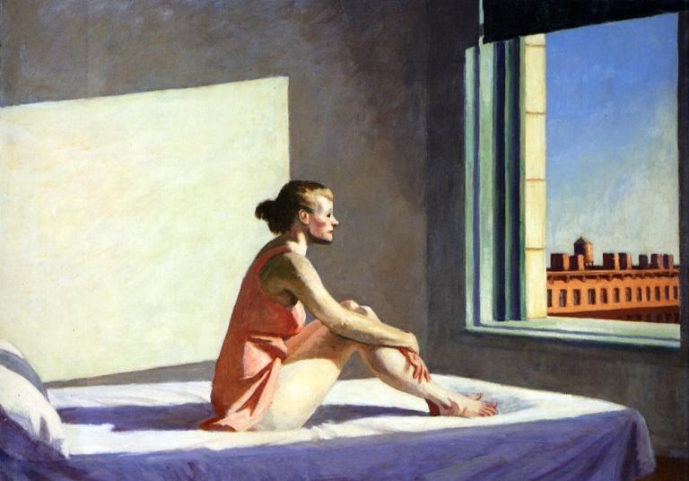 Morning Sun – Edward Hopper, 1952