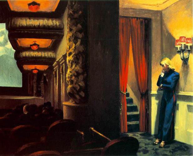 New York Movie – Edward Hopper, 1939