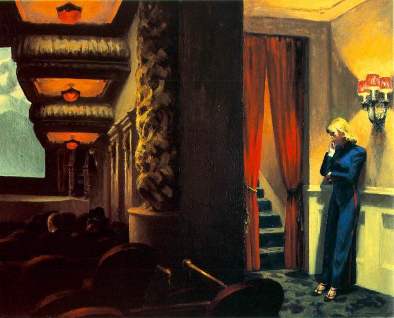 New York Movie – Edward Hopper, 1939