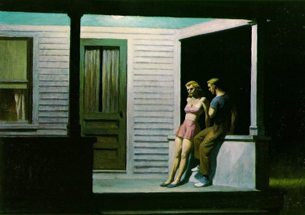Summer Evening - Edward Hopper, 1947