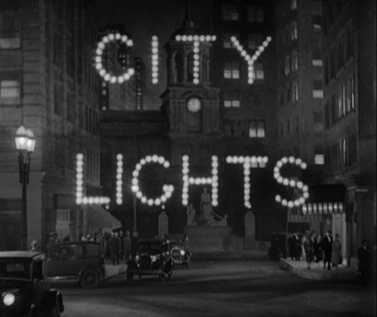 City Lights title card