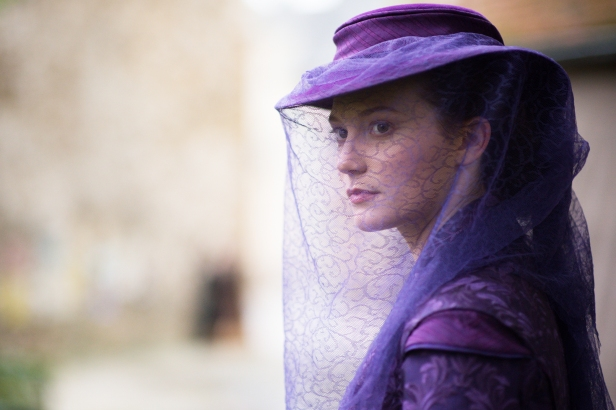Mia Wasikowska as restless Emma Bovary.