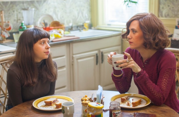 Bel gets advice from mum Charlotte (Kristen Wiig) on what will make her a successful female